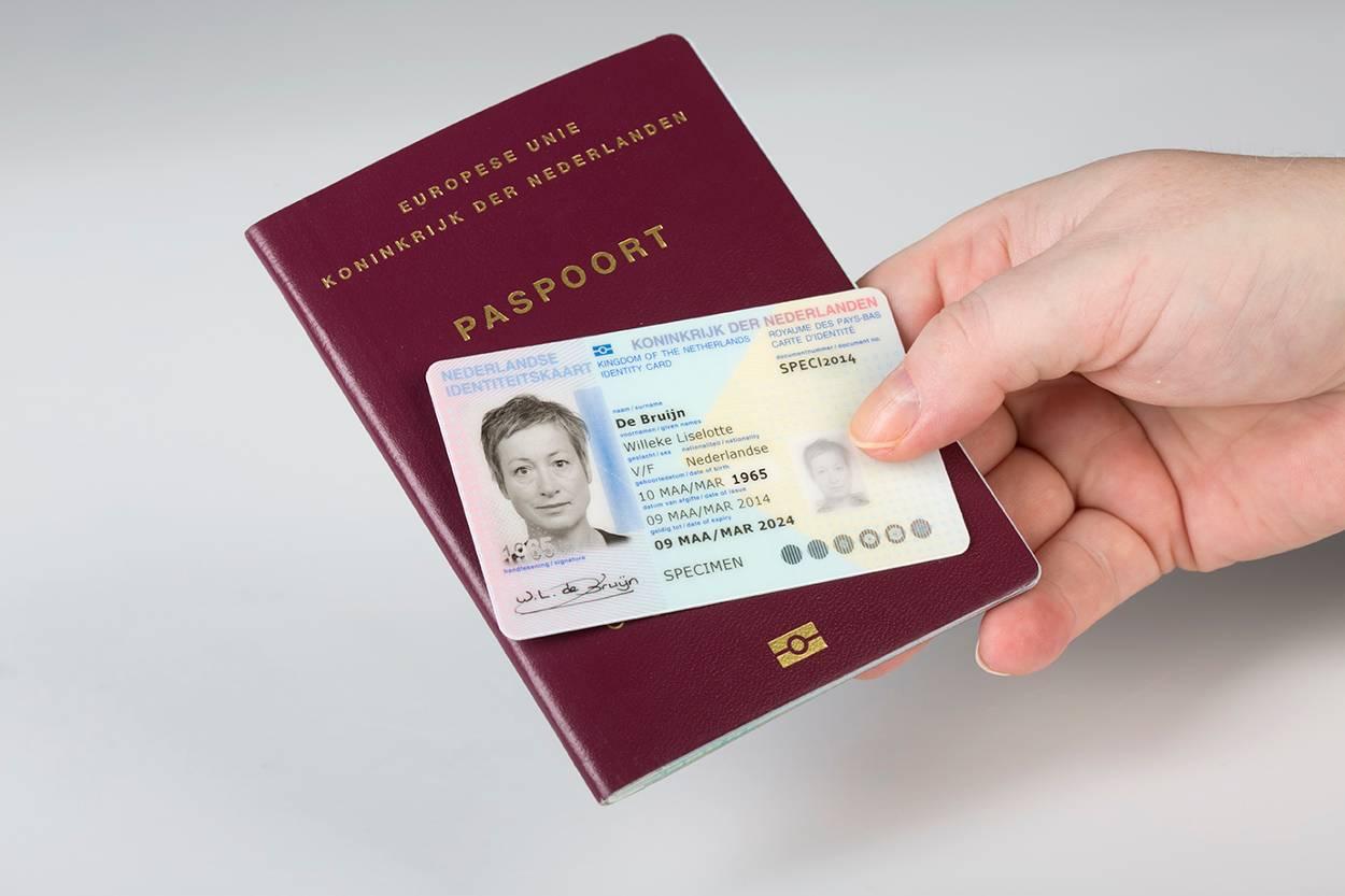 Identificatiebewijs controle door bewindvoerders